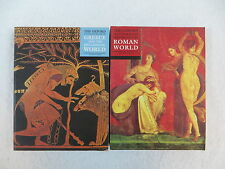 Lot of 2 THE OXFORD ILLUSTRATED HISTORY OF ROMAN WORLD & GREECE Oxford 2001