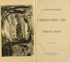 1877 FAIRFIELD County Ohio OH, History & Genealogy Ancestry Family Tree DVD B14