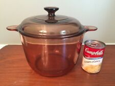 CORNING VISION 3.5 LITRE STOCK POT MADE IN FRANCE GREAT CONDITION CLEAN