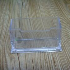 New  Transparent Plastic Case Home Office Card Holder Business Name Card Box