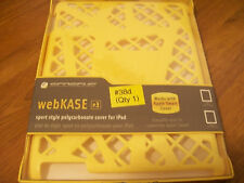 Scosche webKASE IPD2HFY for iPad 2/3/4 -Yellow