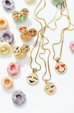 KATE SPADE NEY YORK NECKLACE! :) 'tell all u' emoji pendant necklace - NWT