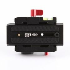 Connect Adapter Mount with Quick Release Plate for Manfrotto 577 Tripod Head