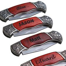 Personalized Pocket Knife - Groomsman Gift - Father's Day Gift