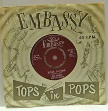 "7"" VINYL SINGLE. Boss Guitar b/w Hava Nagila by Bud Ashton and his group. 1963."