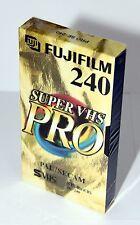 10 x Video Kassette Leer Fuji Super VHS Pro SE-240 SE 240 SVHS S-VHS = 7,90€/St.