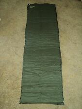 MILITARY ISSUE VINYL TECHNOLOGY SELF INFLATING SLEEPING MAT PAD