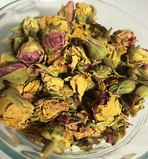 5 oz Bulk Dried Pink Rose Petals and Rosebuds