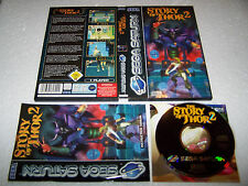 The story of thor 2-sega saturn-uk pal-exc cond-coffret & complet