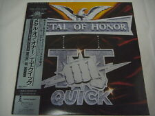 STICKER TT QUICK-Metal Of Honor JAPAN 1st.Press w/OBI Anthrax Metallica AC/DC