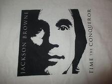 """2009 JACKSON BROWNE """"TIME THE CONQUEROR"""" Concert Tour (LG) T-Shirt"""