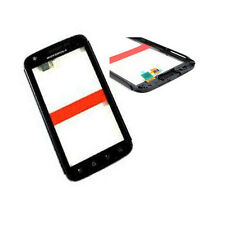 Motorola MB860 Atrix 4G Front Touch Screen Digitizer Panel Frame Bezel Black UK