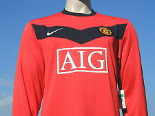 BNWT Nike 2009-10 Manchester United Home Long Sleeved Player Issue Shirt XL