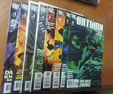 Batman Journey Into Knight #1 2 3 4 8 10 11 12 NM - 2005 Joker 1 DC Comics