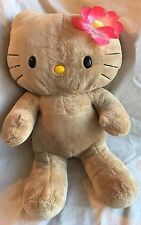 Build A Bear Tropical Hello Kitty Plush Pink Flower