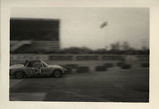 PHOTO ANCIENNE - VINTAGE SNAPSHOT - VOITURE AUTOMOBILE PORSCHE COURSE - CAR RACE