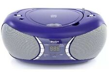 NEW Bush Portable CD & MP3 Player Stereo Boombox - PINK