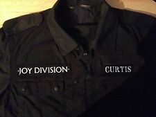 Joy Division Black Camouflage Army Shirt Jacket Unknown Pleasures Ian Curtis