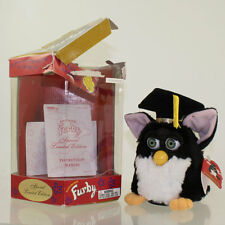 Tiger Electronics  - Black and white Graduation Furby Limited Edition *NM*