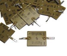 20x Glimmer-Kondensator Siemens 225 pF, 2%, Vintage Mica Capacitors, NOS