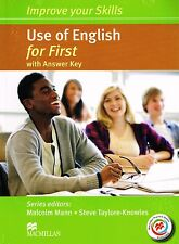 MACMILLAN Improve Your Skills USE OF ENGLISH FOR FIRST FCE w Answers +MPO @New@