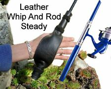 Leather Whip Or Fishing Rod Handle Steady Helps Prolonged Holding