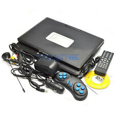 7.8″ Portable DVD Player USB AV I/O Port FM Radio Swivel Widescreen Rechargeable