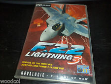 F22 Lightning 3    combat flight simulator  pc game