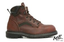 New Red Wing 2226  6-inch Men Safety  work Boots Sz 6 E2 Leather Brown