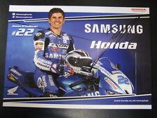Samsung Honda BSB Team 2013 #22 Jason O'Halloran (AUS) signed