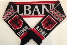 ALBANIA Football Scarve NEW from Superior Acrylic Yarns