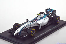 1:43 Spark Williams FW36 Mercedes GP Abu Dhabi Bottas 2014