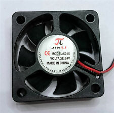 50x50x15mm DC Brushless 24V 0.2A 2 Pin Cooling Fan