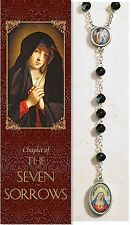 Seven Sorrows of Mary Chaplet (PS350) (rosary) NEW