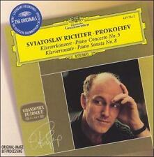 Prokofiev: Piano Concerto No. 5; Piano Sonata No. 8 *New CD*