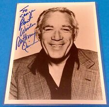 Anthony Quinn Autograph Photo COA