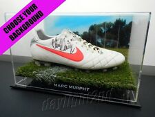 ✺Signed✺ MARC MURPHY Match Worn Boot CLUB ISSUED COA Carlton Blues 2017 Guernsey