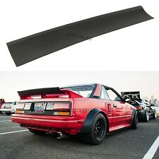 Universal JDM Drift Guerney Flap Trunk Spoiler Wing Flap Ducktail Boot Lip Addon