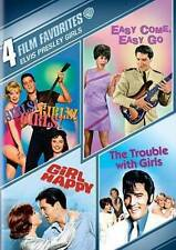 Elvis Presley Girls: 4 Film Favorites New DVD