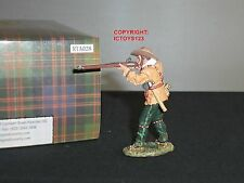 KING AND COUNTRY RTA28 ALAMO JOHN DAVIS FIRING RIFLE METAL TOY SOLDIER FIGURE