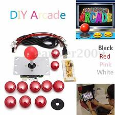2 Set Arcade DIY Parts USB Encoder To PC Joystick & Push Buttons For Fight Stick