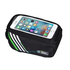 CYCLE BIKE BICYCLE FRAME POUCH BAG CASE MOBILE PHONE HOLDER FOR 5.5inch IPHONE