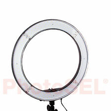 PhotoSEL LER55M 55W Studio Photo/Video Dimmable LED Ring Light Flash Lighting