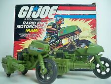 D1000068 RAM RAPID FIRE SET OF 2 MOTORCYCLE GI JOE BLUEPRINT UNDECALED