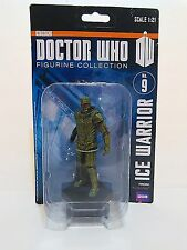"""4.25"""" BBC Doctor Who ICE WARRIOR scale 1:21 figurine collection NO.9"""