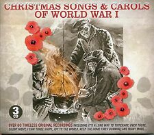 CHRISTMAS SONGS & CAROLS OF WORLD WAR I 3 CD BOX SET OVER THERE & MANY MORE WW1
