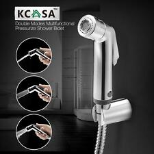 "KCASAâ""¢ Double Modes Pressurize Bidet Shower Toilet Seat Shattaf Bathroom Kitch"