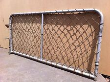VINTAGE ANTIQUE METAL CYCLONE WIRE MESH HOUSE GARDEN GATE GALVANISED MELBOURNE