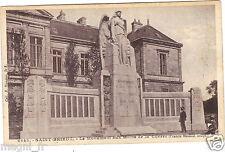 22 - cpa - ST BRIEUC - Le monument aux morts de la guerre