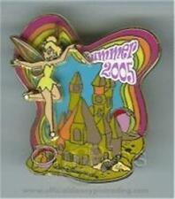 TINKER BELL & SAND CASTLE SUMMER 2005 LE 1000 WDW SURPRISE RELEASE Disney PIN